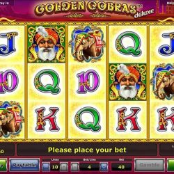 Golden Cobras Deluxe  Spielen