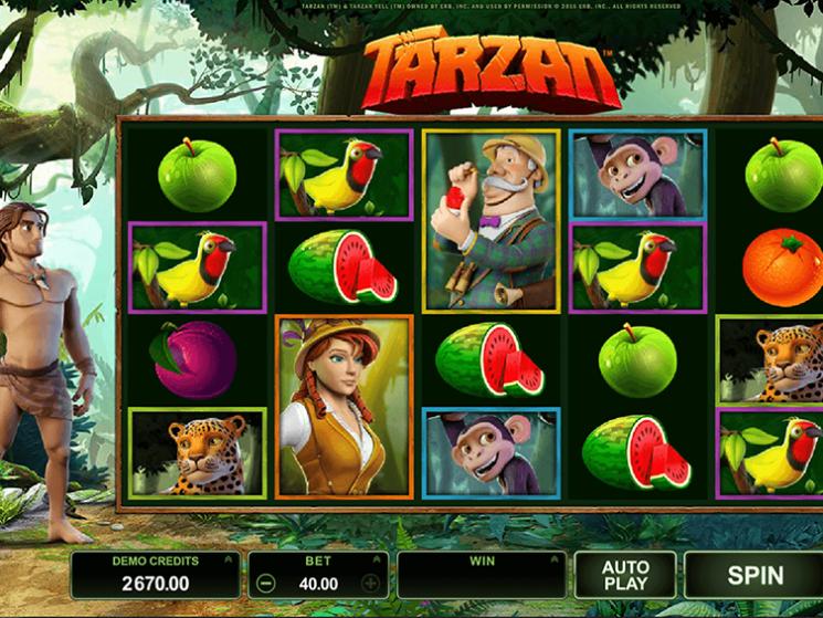 Tarzan Slot  Kostenlos Spielen ohne Anmeldung